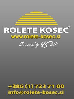 Izdelava spletne strani Rolete Kosec